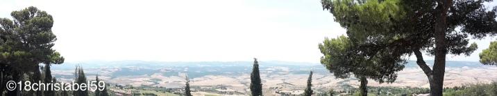 Ausblick von Volterra