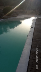 Swimming Pool an der FeWo
