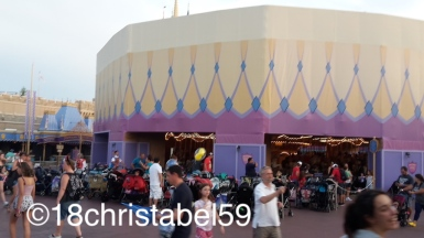 Disney's Magic Kingdom, Buggy-Parkplatz