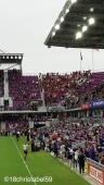 Fankurve von Atlanta City