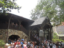 Warten in Disney's Magic Kingdom