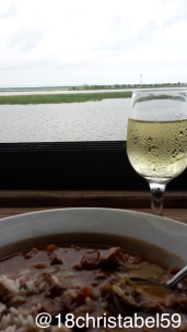 Apalachicola - Gumbo mit Wein