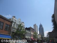 Dauphin Street, Downtown Mobile
