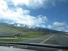 auf dem Weg zum Vulkankrater