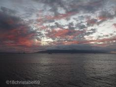 Sonnenuntergang in Lahaina